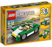 Mô Hình Lego Creator - Xe Mui Trần Xanh Lá 31056 (122 Mảnh Ghép)