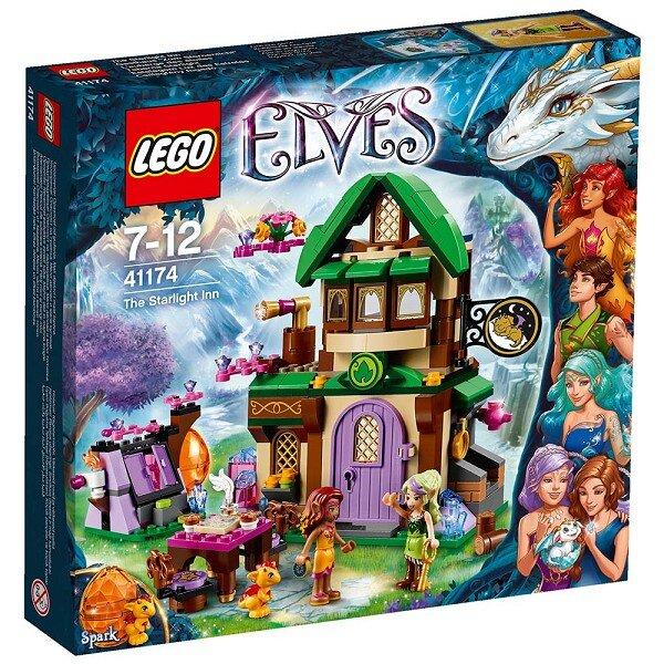 Mô hình LEGO Elves - Nhà trọ ánh sao 41174 (343 mảnh ghép)