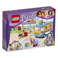 Mô Hình Lego Friends - Dịch Vụ Giao Hàng Quà Tặng Heartlake 41310 (185 Mảnh Ghép)