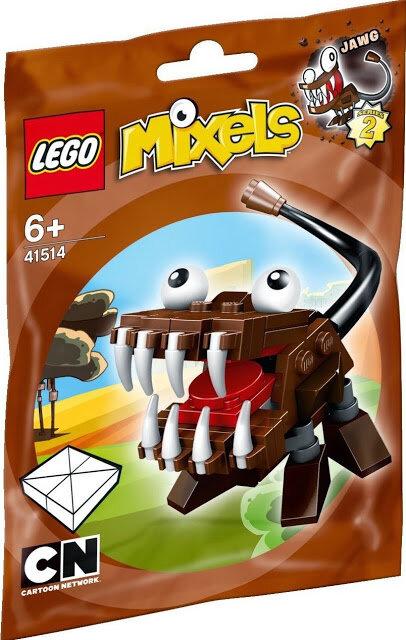mô hình lego mixels sinh vật jawg 41514