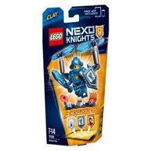 Mô hình LEGO Nexo Knights - Hiệp sỹ Clay 70330 (72 mảnh ghép)