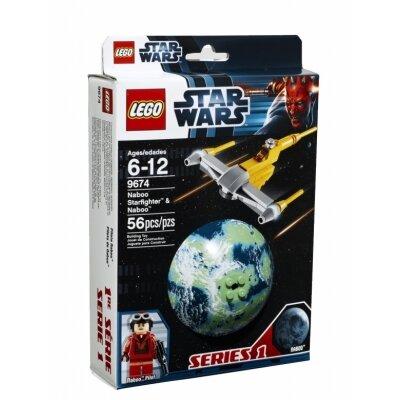 Mô hình Máy bay chiến đấu và hành tinh Naboo Lego Star Wars 9674
