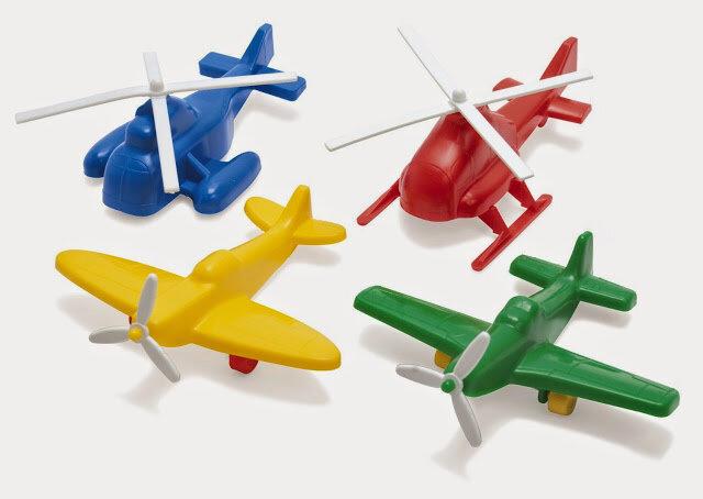 Mô hình máy bay nhựa Dantoy