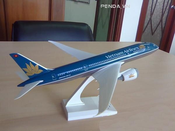 Mô hình máy bay trưng bày