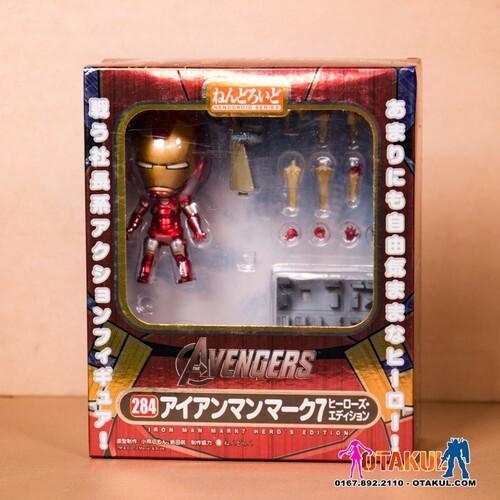 Mô hình Nendoroid 284 – Iron Man Mark 7
