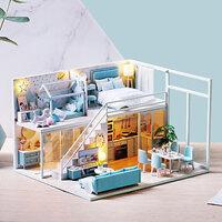Mô hình nhà DIY Doll House Poetic Life Kèm Mica Chống bụi