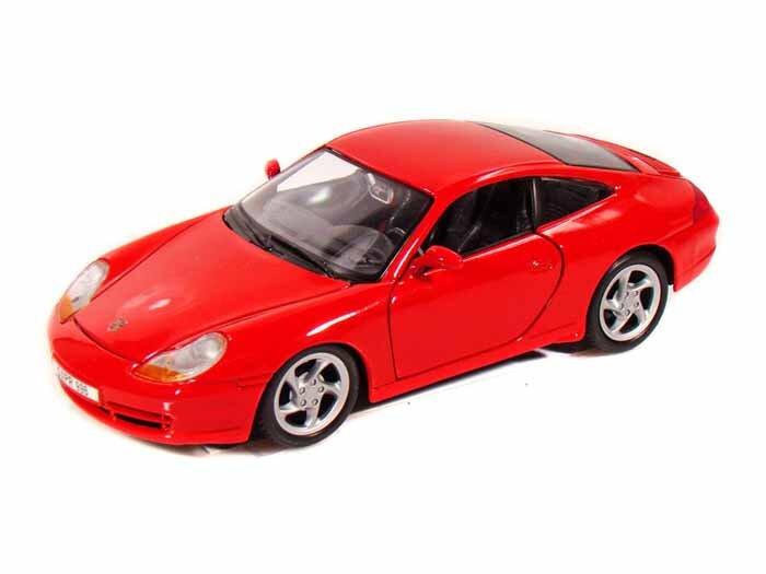 Mô hình ô tô Porsche 911 Carrera Maisto 31938 tỉ lệ 1:24