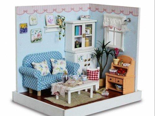 Mô hình phòng khách mini