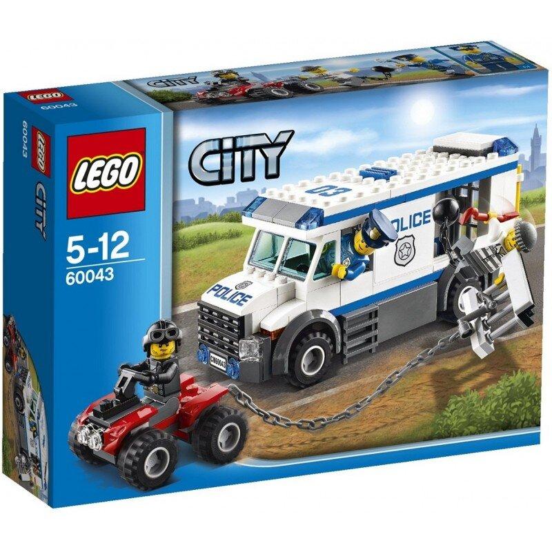 Mô hình Vận chuyển tù nhân Lego City 60043