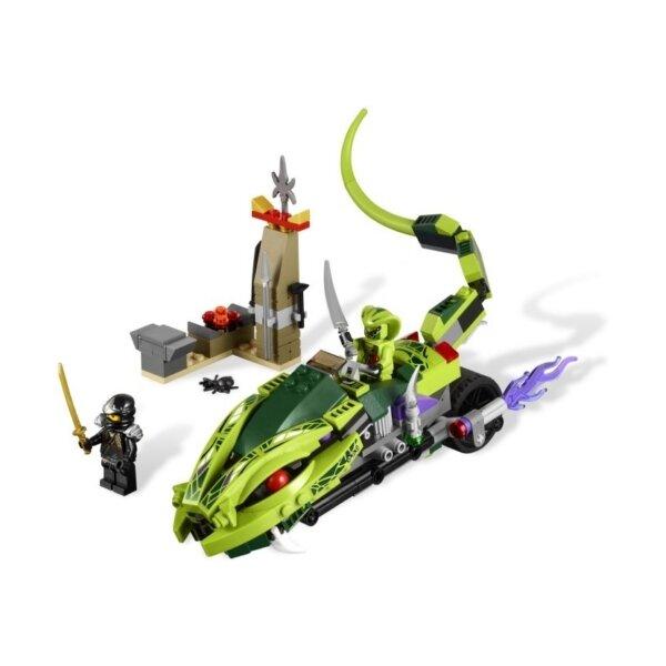 Mô hình Xe chiến đấu của Lasha Lego Ninjago 9447
