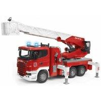 Mô hình xe cứu hỏa thang xoay Bruder BRU03590