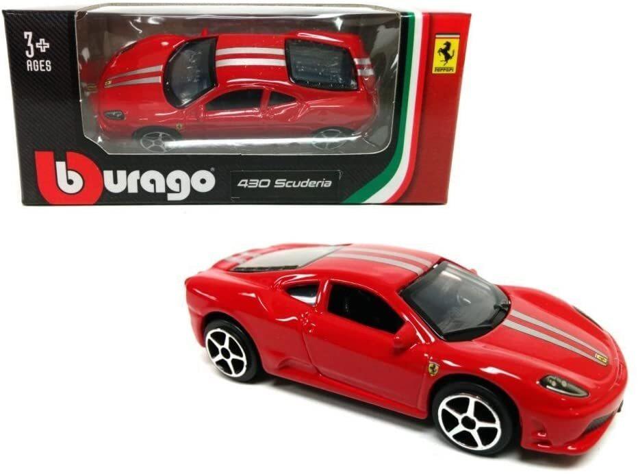Mô hình xe Ferrari 430 Scuderia 1:64 Bburago