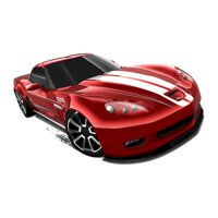 Mô hình xe Hot Wheels '11 Corvette Grand Sport