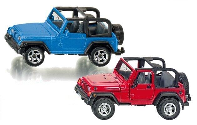 Mô hình xe Jeep Wrangler Siku 1342