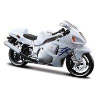 Mô hình Xe mô tô Suzuki GSX 1300R Hayabusa Maisto 31101 tỉ lệ 1:12