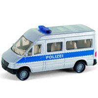 Mô hình xe ô tô cảnh sát Siku 0804