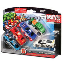 Mô hình Xe siêu anh hùng Marvel bộ sưu tập 5 xe Maisto 15139