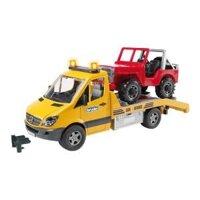 Mô hình xe tải và xe Jeep Bruder BRU02535