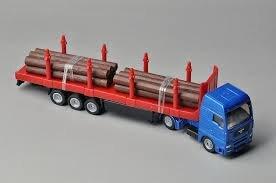 Mô hình xe vận chuyển gỗ Siku 1659