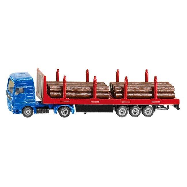 Mô hình xe vận chuyển gỗ Siku 1804