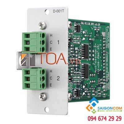 Modul ngõ vào âm thanh D-001T