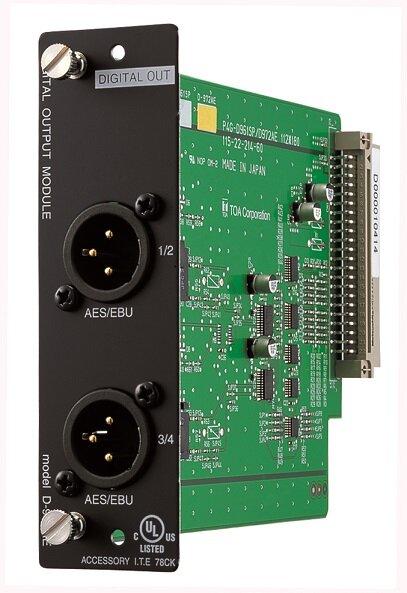 Module ngõ ra 4 kênh TOA D-972AE