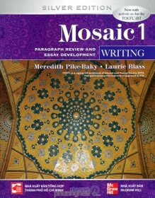Mosaic 1 (Silver Edition): Writing - Meredith Pike-Baky & Laurie Blass.