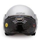 Mũ bảo hiểm GRS A360K trơn bóng (Đen)