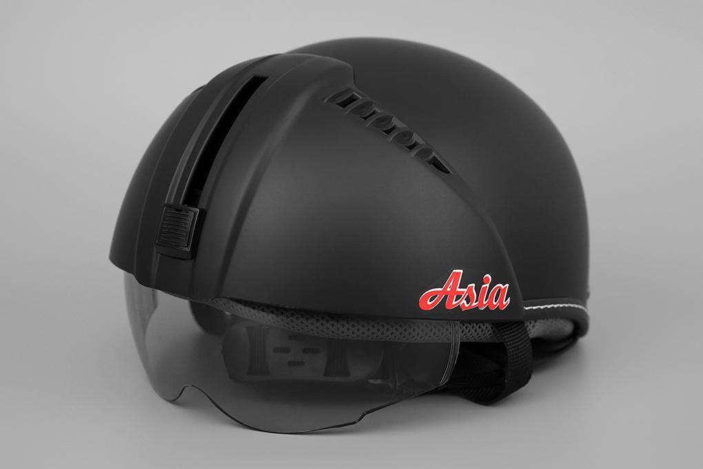 Mũ bảo hiểm kính âm chính hãng ASIA MT-105KA