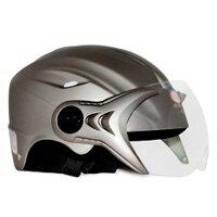 Mũ bảo hiểm nửa đầu có kính Chí Thành CT14N