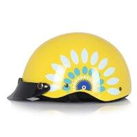 Mũ bảo hiểm Protec HIWAY 2 màu không kính
