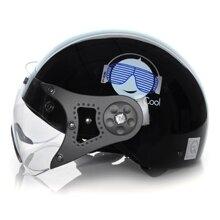 Mũ bảo hiểm Protec Hiway 2 mầu có kính
