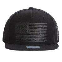 Mũ lưỡi trai snapback FL041 USA Flag black