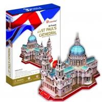 Bộ xếp hình 3D nhà thờ thánh St.Paul's Cathedral Cubic Fun MC117H