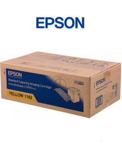 Mực in Epson S051162 Yellow Toner Cartridge (C13S051162) - Dùng cho máy in: Epson ACULASER C2800