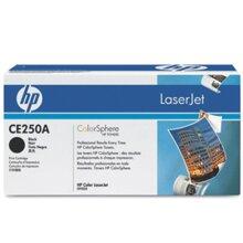 Mực in HP CE250A - Dùng cho máy HP CP3525, CM3530 MFP Black 5K Print Crtg