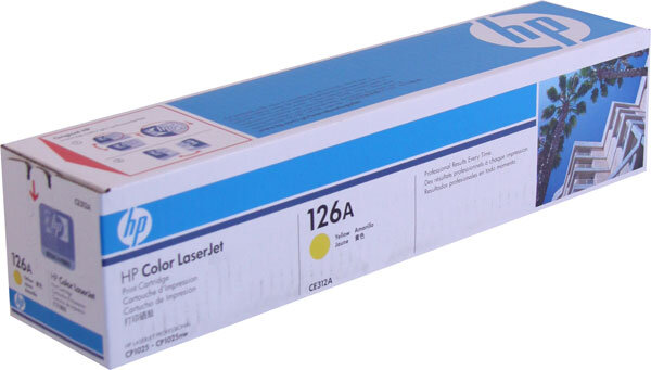 Mực in HP CE312A - Dùng cho HP CLJ CP1025,M275NW