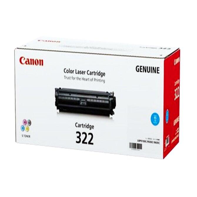 Mực in laser Canon 322 (C/M/Y) - Dùng cho máy in Canon LBP 9100CDN, LBP 9500C, LBP 9600C