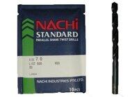 Mũi khoan trụ thép gió Nachi List500-0710, 7.1mm