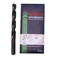 Mũi khoan trụ thép gió Nachi List500-0690, 6.9mm