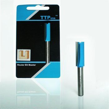 Mũi phay Alu thẳng TTPusa 223-000207-SD 6.35 x 22.2 mm