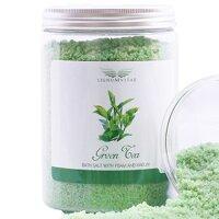 Muối tắm khoáng tạo bọt chiết xuất tinh dầu trà xanh Lignum Vitae 1 kg