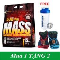 Mutant Mass Muscle Mass Gainer 15Lbs (6.80Kg)