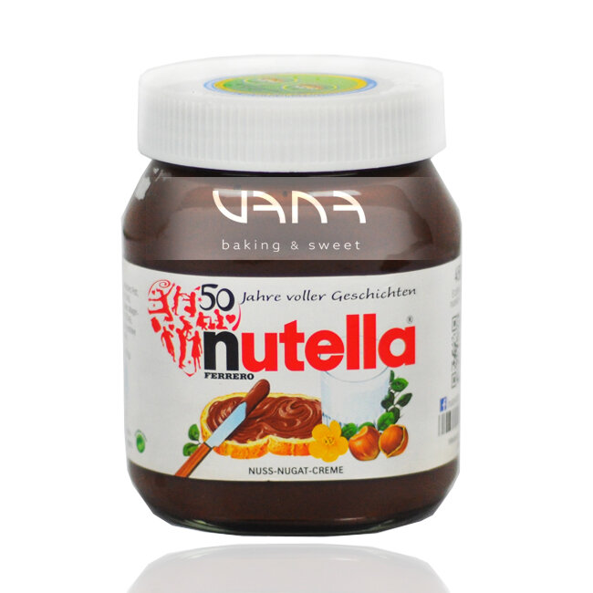 Mứtca cao & bơ hạt dẻ Nutella Ferrero 450g