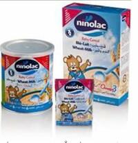 Bột ăn dặm Ninolac Wheat Milk (Lúa mì - Sữa) - 400g