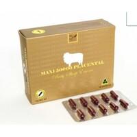 Viên uống nhau thai cừu Maxi Sheep Placenta 50000mg, 100 viên