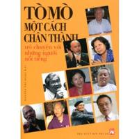 Tò mò một cách chân thành - Trò chuyện với những người nổi tiếng - Nguyễn Thị Ngọc Hải