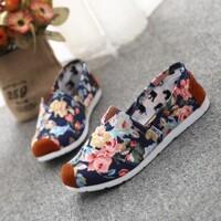 Giày lười vải kiểu hàn quốc cá tính sành điệu - màu VS50, VS51, VS52