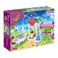 Bộ đồ chơi lắp ráp BanBao - Đám cưới cổ tích 6106