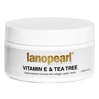 Sữa rửa mặt Lanopearl Vitamin E & Tea Tree Facial Cleanser 250ml